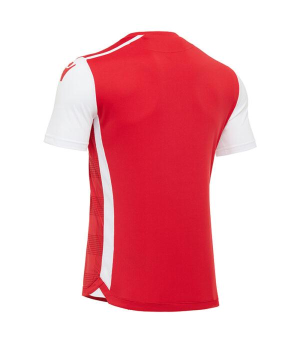 tricou fotbal wezen rosu spate