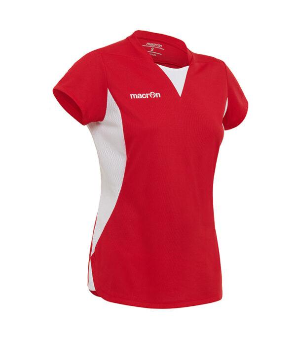 tricou fotbal dama rosu