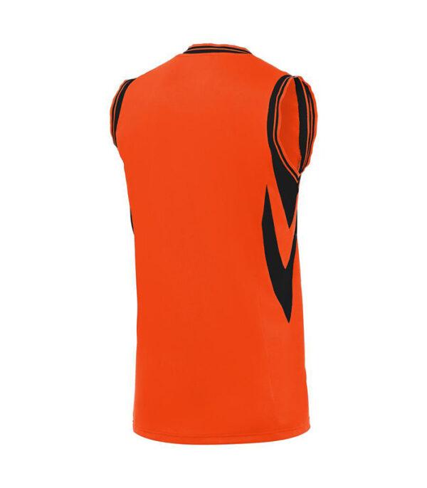 tricou basket portocaliu macron