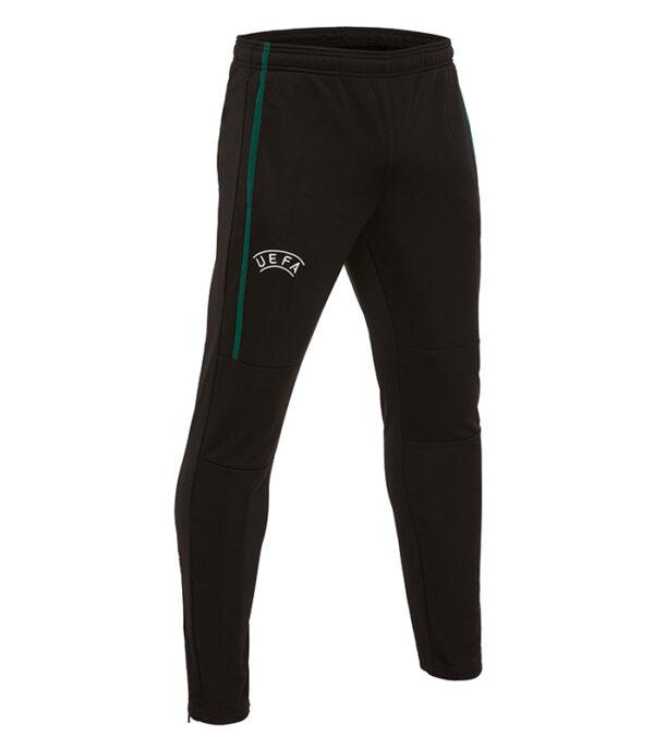 pantaloni trening arbitru uefa macron